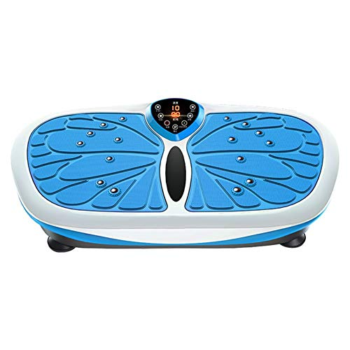 Arm Vibrationsplatte,99-stufige Einstellung MP3 / Fernbedienung Multifunktion Fitness-Übung Fettverbrennung Oszillierende Plattform