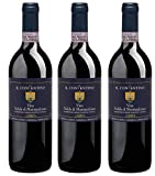 Bio Wein Il Conventino Vino Nobile Riserva Cuvée Rotwein Toskana Italien 2013 Trocken Vegan (3 x 0.75 l)