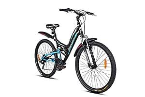 "Hercules UX2 Bike, 26"" (Matte Black Cyan )"