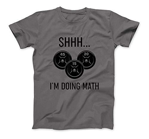 Shhh ich tue Mathe Gewichtheben T-Shirt SweatshirtHoodie Tank Top für Männer Frauen Kinder