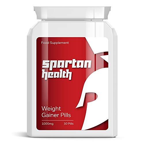 SPARTAN HEALTH Weight Gainer PILLS - ON SIZE Bausch PILL GAIN GRÖSSE & Muskel zuge