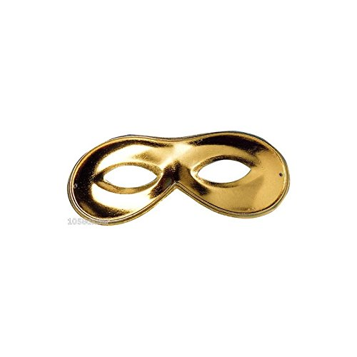 VENETIAN MASQUERADE GOLD PARTY EYE MASK (máscara/careta)