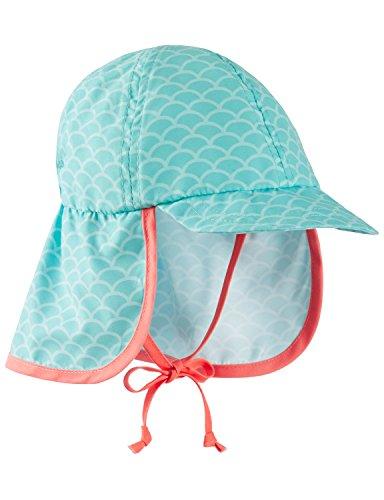 Schiesser Schiesser Baby-Mädchen Mütze Seepferdchen Selina Schirmmütze Grün (Mint 708), 1-1,5 Jahre (86-92)