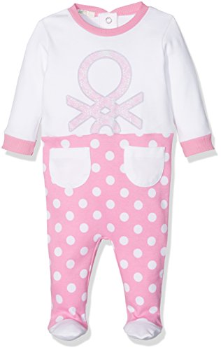united-colors-of-benetton-overall-tuta-bimbo-multicolore-pink-white-6-9-mesi-taglia-produttore-68