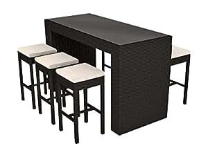 artelia bar flamingo schwarz. Black Bedroom Furniture Sets. Home Design Ideas