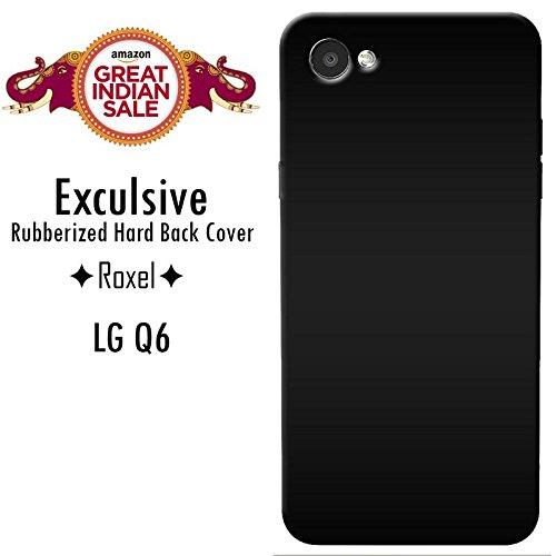 LG Q6 (Black, 18:9 FullVision Display)/LG Q6 (Platinum, 18:9 FullVision Display)/LG Q6 (Gold, 18:9 FullVision Display) Roxel Exclusive 3D Hard Back Case Cover For LG Q6 (Black, 18:9 FullVision Display)/LG Q6 (Platinum, 18:9 FullVision Display)/LG Q6 (Gold, 18:9 FullVision Display) -Black
