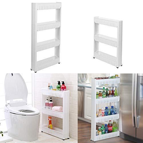 Preisvergleich Produktbild Generic ausziehbarer Rollwagen für Badezimmer,  Küche,  Gewürzregal,  Etage,  ausziehbar,  ausziehbar,  S-Aufbewahrungs-Turm