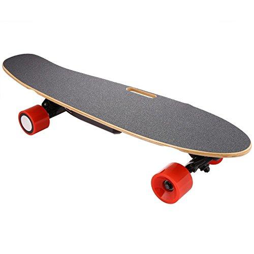 Lonlier Monopatín Eléctrico Penny Skateboard Longboard con Bluetooth Control Remoto Luz Delantera