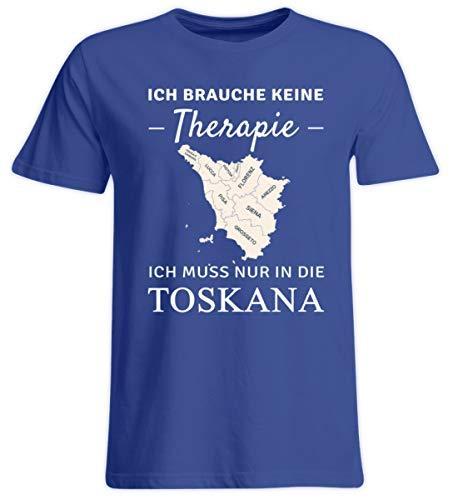 Toskana Schiefer (Nukular Toskana Therapie - Übergrößenshirt)