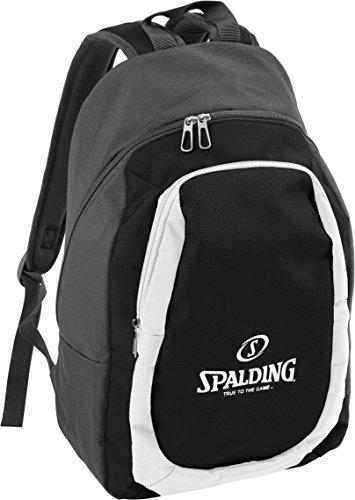 Spalding 300451902, Unisex-Erwachsene Rucksack, Mehrfarbig (Antracita/Negro), 15x24x45 cm (W x H x L)