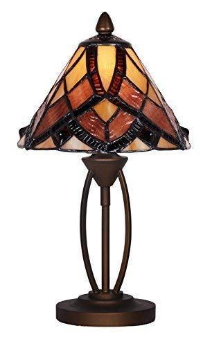 Tiffany Stil Einzigartig Glasmalerei Tisch Lampe - G083750A -