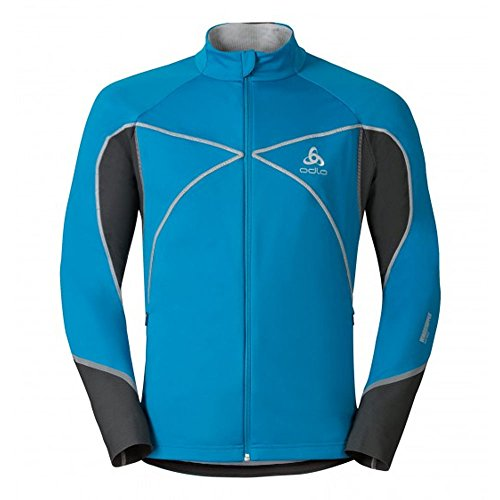 Odlo Nagano X Windstopper Jacket - blue jewel-seaport