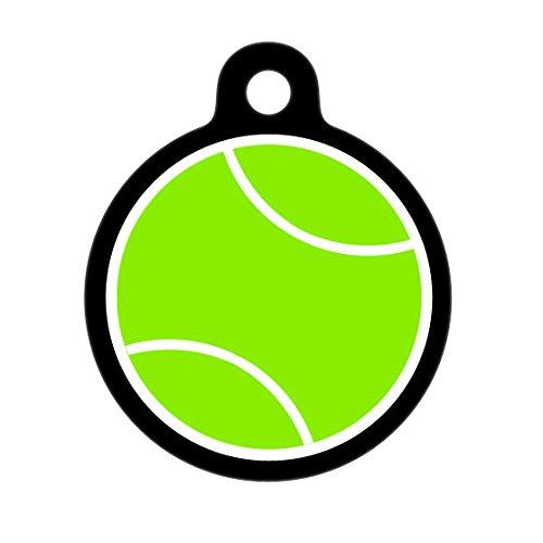Pet ID Tag Persönlichen Tennis Ball Erkennungsmarke für Haustiere, Hund Tag, Cat Tag, Gepäckanhänger, Kinder ID Tag -