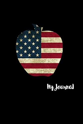 my-journal-6x9-110-pages-beautiful-american-flag-apple-makes-a-great-gift-for-teachers-and-holidays