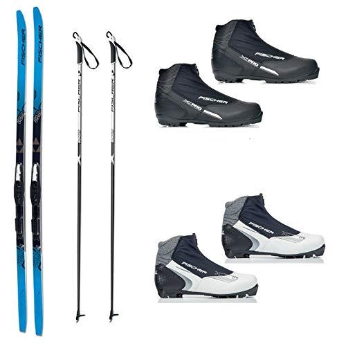 Langlauf Ski Set Cruising Fischer Jupiter Crown + Bdg + Schuhe XC Pro 2014/15 (189 Zentimeter, 46 herren)