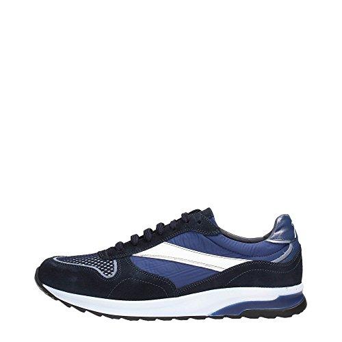 Soldini 19843-3-S92 Sneakers Uomo Scamosciato Blue Blue 44