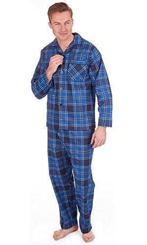 mens-die-traditionelle-flanell-pj-pyjama-set-nachtbekleidung-pj-schlafanzuge-sets-herren-baumwolle-m