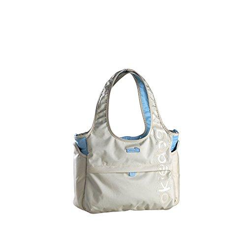 Preisvergleich Produktbild Vital Innovations 12118 Okiedog Wickeltasche Tote Bag Terra, beige