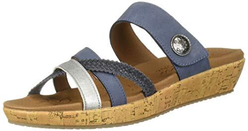 Skechers Damen Brie Sandalen, Blau Blu, 38.5 EU -