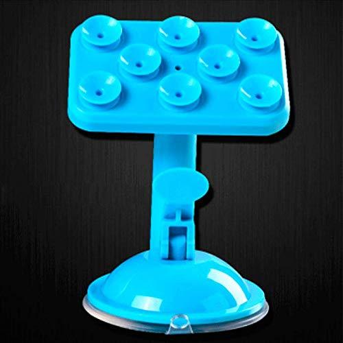 mangege Halterung Handy Saugnapf Typ Kopf Lazy Live Tischhalter Bett Flache Platte Unterstützung Regal Halterung blau -