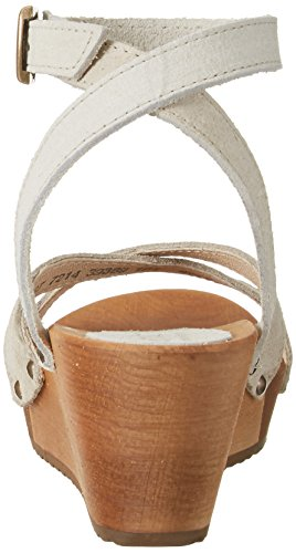 Sanita Thalia Wedge Flex Sandal, Bride Cheville Femme Beige