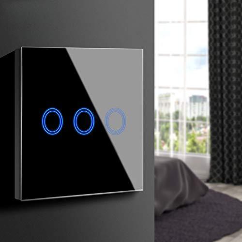 Aimengte Interruptor táctil inteligente LED capacitivo