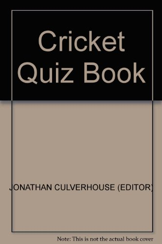 Cricket Quiz Book