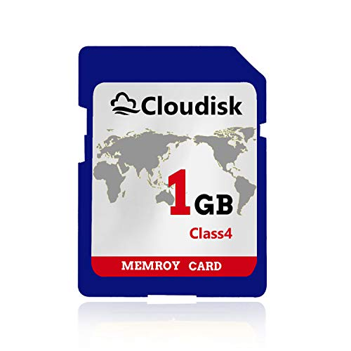 Cloudisk 1GB SD Carten UHS Flash Speicherkarten Class4 (1 GB SD Memory Card) (Wii-sd Karte 2gb)