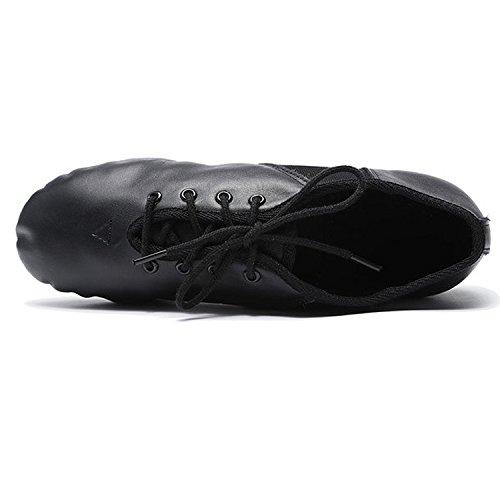 Oasap Damen EJ1 E-Series Jazz Schuhe Black