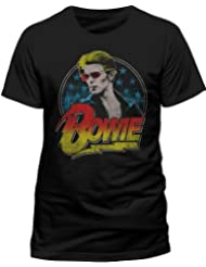 Live Nation - T-shirt Homme - David Bowie - Smoking