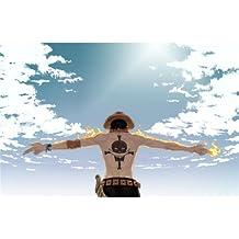 One Piece Poster On Silk <54cm x 35cm, 22inch x 14inch> - Cartel de Seda - 3180A9
