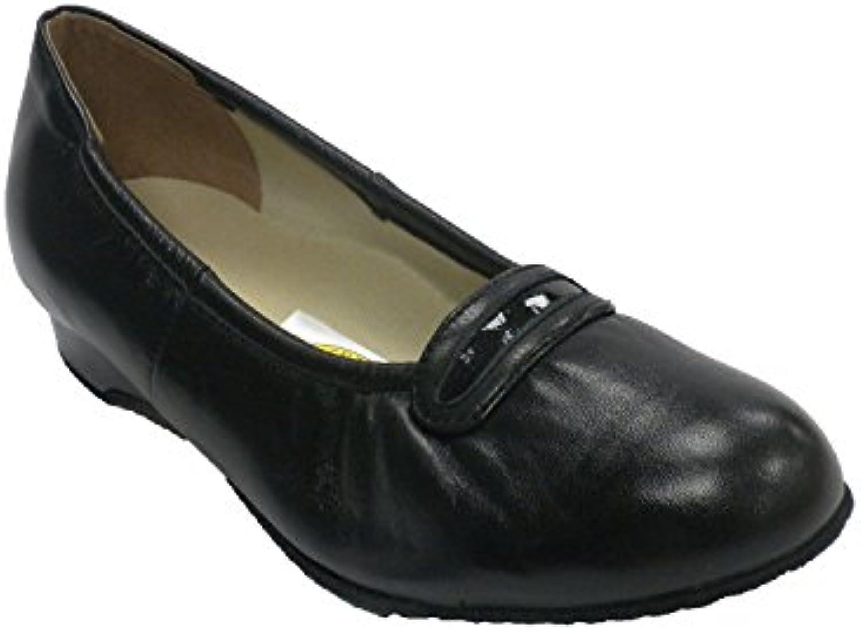 Roldan Manoletina Femme pour Confortable Personne âgée très Confortable pour en Noir 3729e6