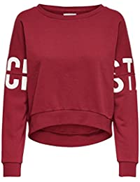 Only Onlgame L/S Batwing Swt, Sweat-Shirt Femme