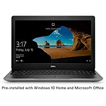 Dell Inspiron 3593 15.6 inch FHD Laptop (10th Gen i5-1035G1/ 8GB/ 512 SSD/ Integrated Graphics/ Win 10 + MS Office Home & Student/ Silver) D560312WIN9SE