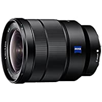 Sony SEL1635Z E Mount Full Frame Vario T-Star 16-35 mm F4.0 Zeiss Lens - Black