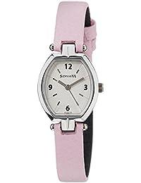 Sonata Analog White Dial Women's Watch - NF8083SL01