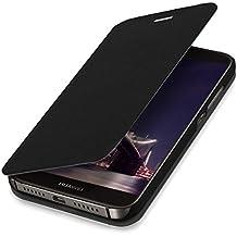kwmobile Funda para Huawei G8 / GX8 - Flip cover para móvil - Cover plegable en negro