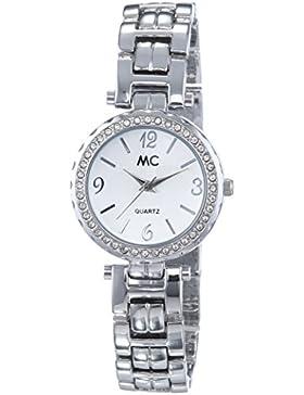 MC Timetrend Damen-Armbanduhr XS Analog Quarz Messing 51323