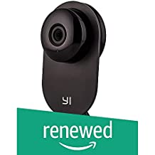 (Renewed) YI Home Camera Wireless IP Security Surveillance System (Black)