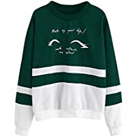 Crop Top Sweatshirt Mujeres Fashion Tops con Capucha Blusa Classic Stripe Mujeres Color Block Camiseta Otoño Invierno Casual New Home Clothes S-2XL