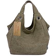 witery Mujer Vintage Lienzo Bolso de mano Monedero bolsa de la compra bolsa de hombro bolso de mano