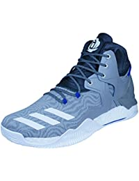 detailed look 0869b 2dd4c adidas D Rose 7, Scarpe da Basket Uomo, Grigio (Grpuch Ftwbla