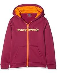 Trangoworld Oby Chaqueta, niños, Granate Claro/Naranja, ...