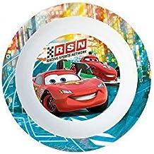 Plato hondo de plastico para microondas kids Cars Neon Racers Cup (12/48)