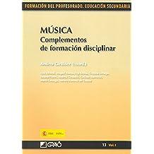 Música. Complementos de formación disciplinar: 131 (Formacion Profesorado-E.Secun.)