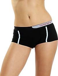 Remixx Damen Pants 10er Pack Stretch Baumwolle