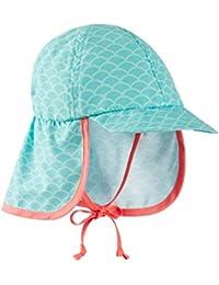 Schiesser Baby Girls' Seepferdchen Selina Schirmmütze Swimwear Set