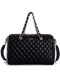 Guess BORSA SWEET CANDY LARGE SATCHEL ECOPELLE TRAP. NERO DONNA BS19GU34 8b612e0dffe