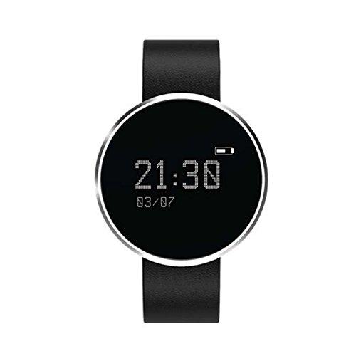 Aktivität Smart Armband Schrittzähler sport Armbanduhr,Aktivitäts Tracker Schrittzähler Schlafanalyse Kalorienzähler Anruf/ SMS Intelligente uhr,Sleep Monitor für iPhone IOS und Android Smartphones