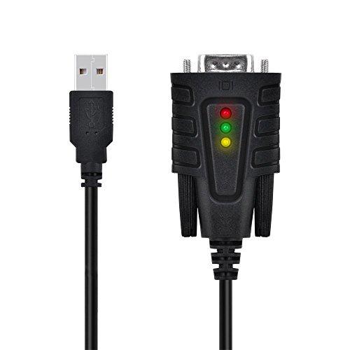 Top-Longer USB auf RS232 Seriell Adapter Konverter Kabel USB Seriell DB9 mit PL2303 Chipsatz für Windows Mac OS X 10.11